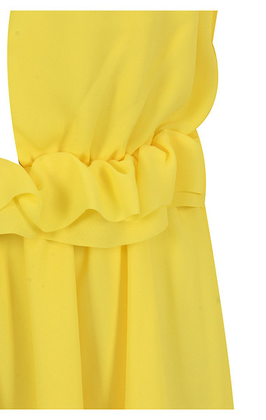 yellow serenity dress