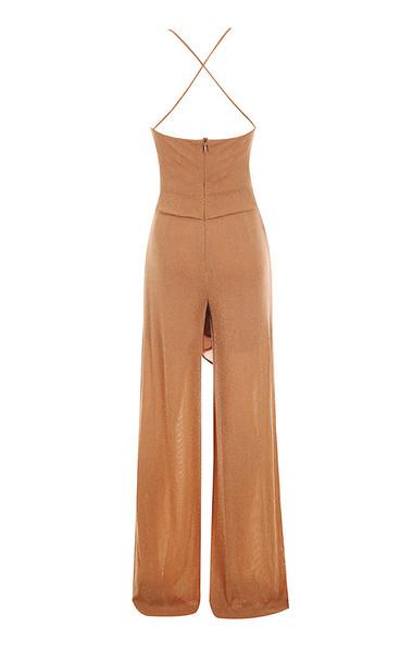 sienna jumpsuit in brown