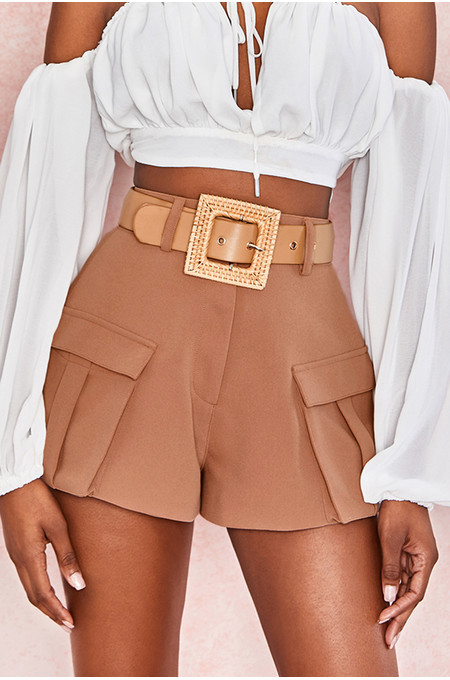 Fauna Tan + Natural Rattan Belt