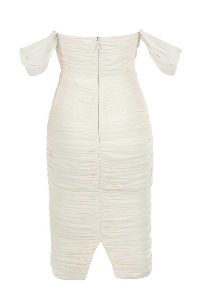 carlotta dress in ivory