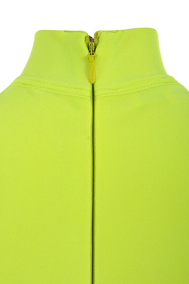 flavia lime dress