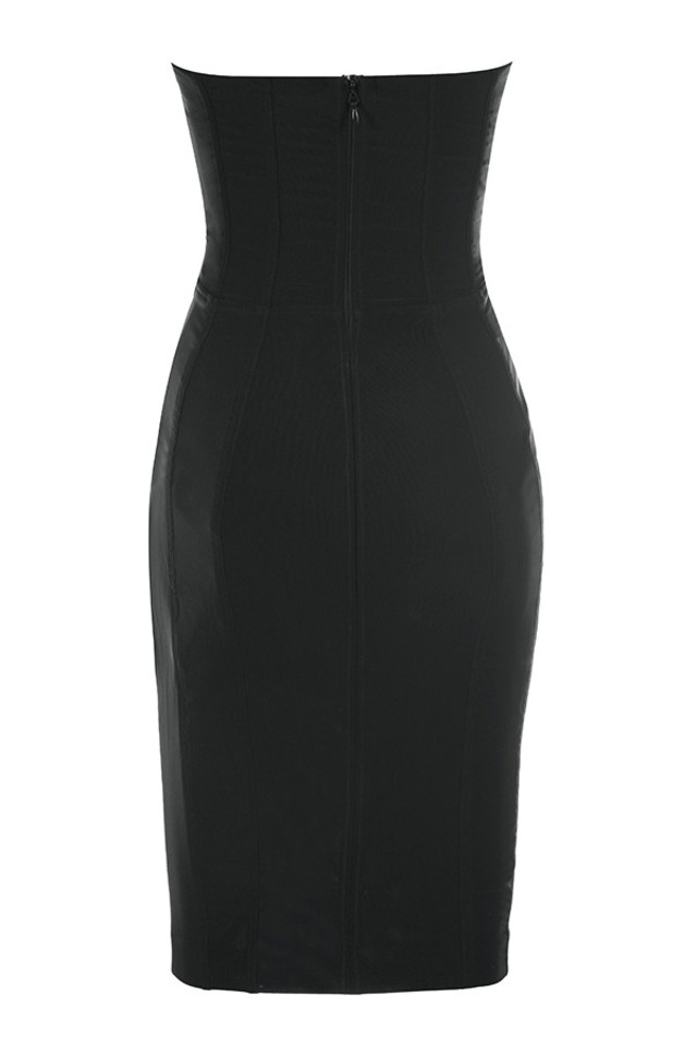 jaleesa dress in black