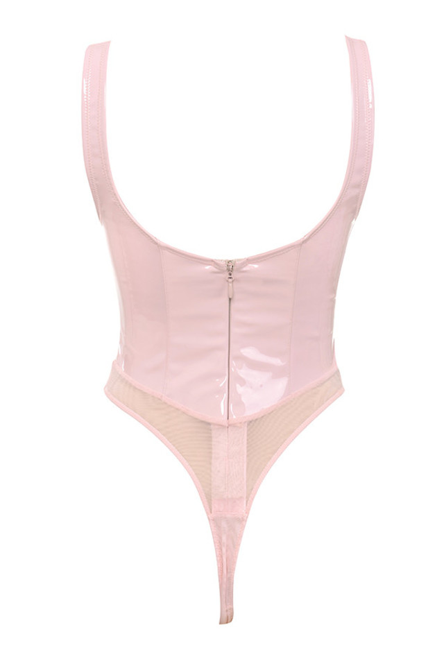 kenzia bodysuit in blush