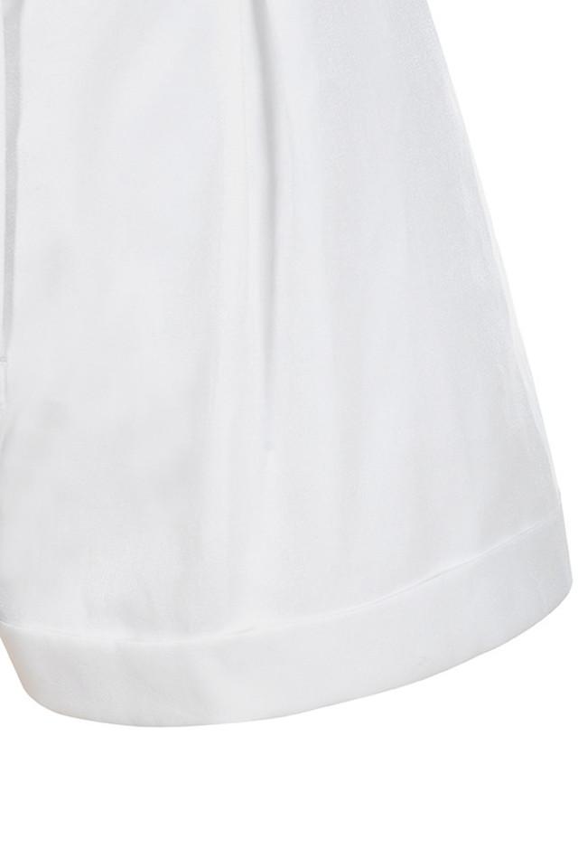 white kiera shorts