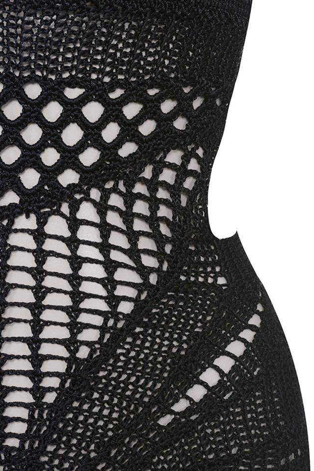 black lorena dress