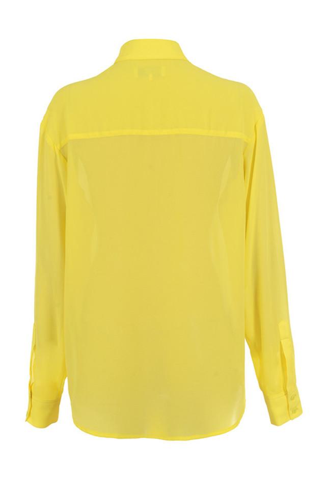 mahlah shirt in yellow