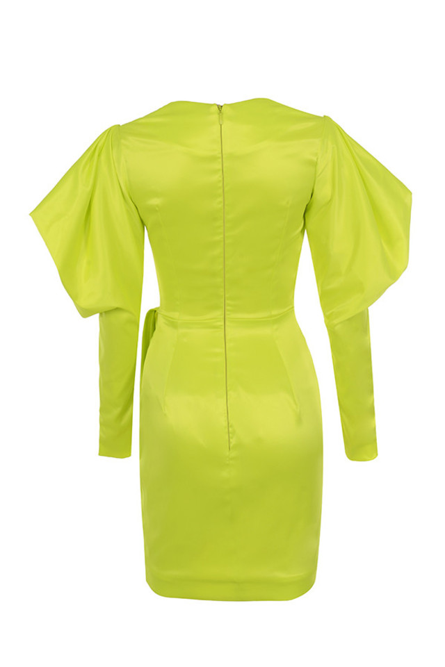 marionella dress in yellow
