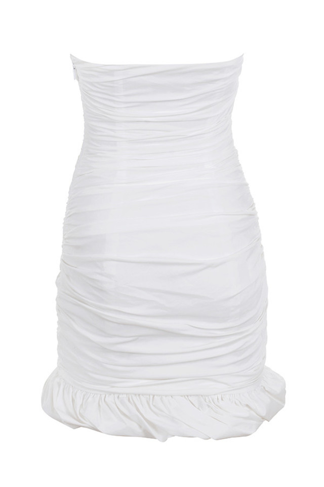 rema dress in white