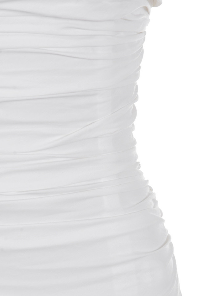 white rema dress
