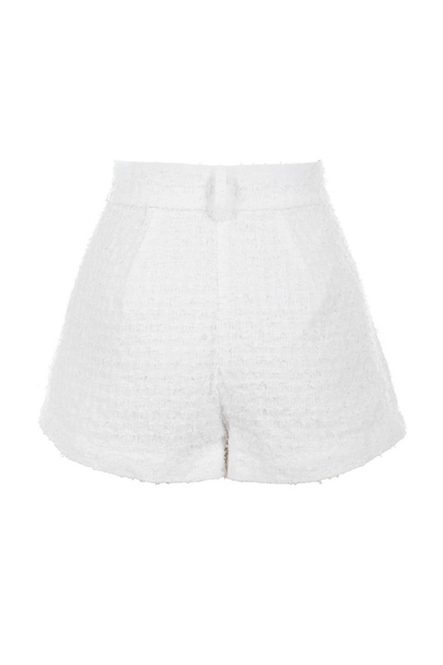 soraya shorts in white