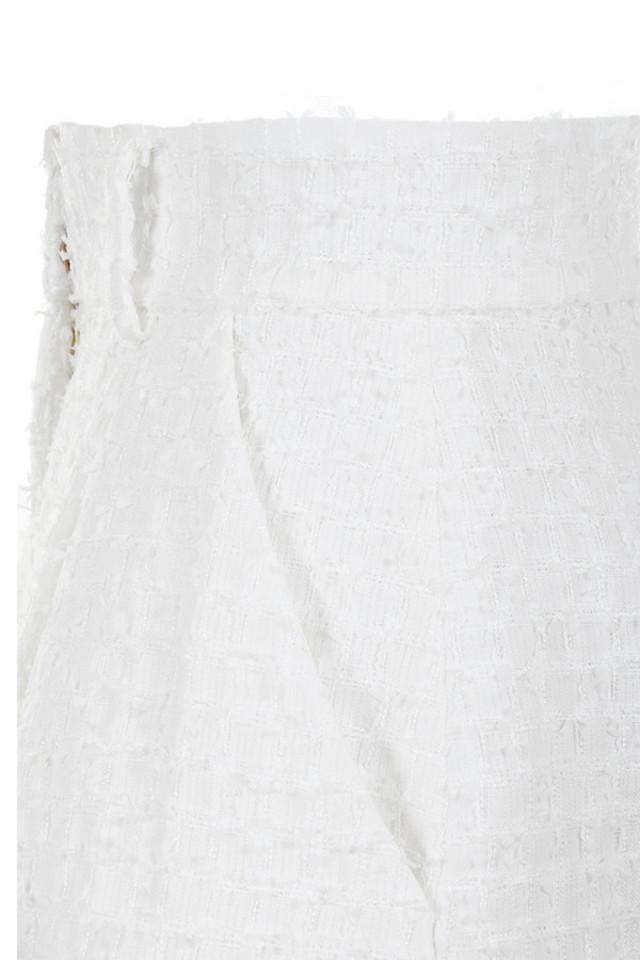 white soraya shorts
