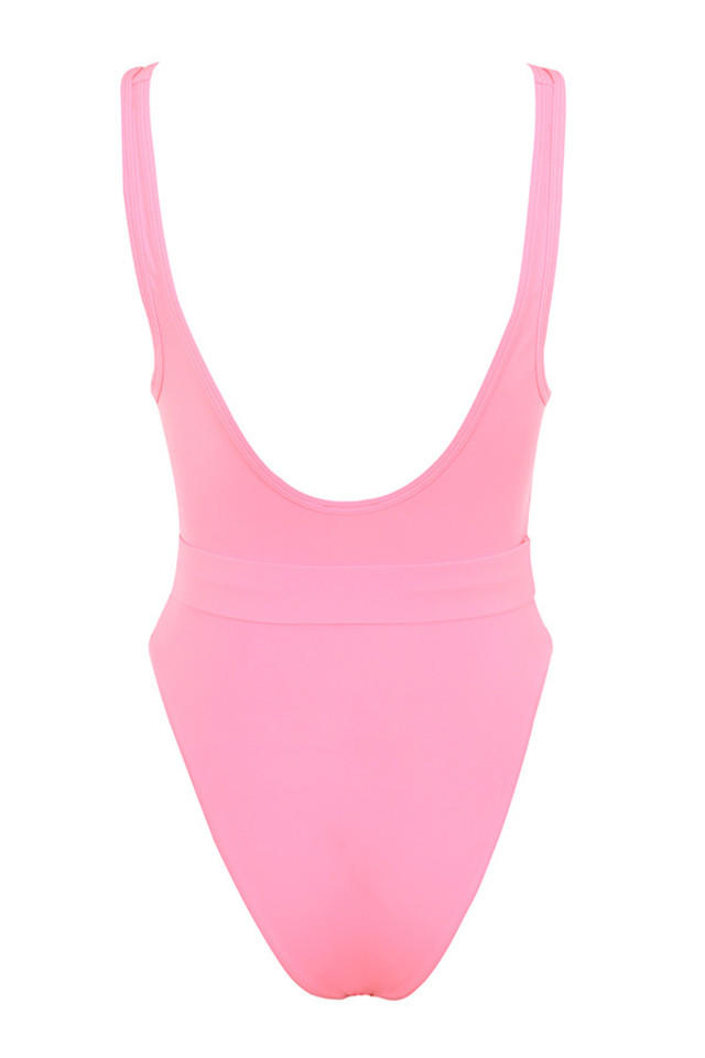 wayfarer bodysuit in pink
