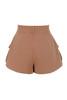 anja shorts in mocha