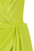 yellow marionella dress