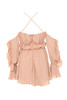 serenity dress in blush