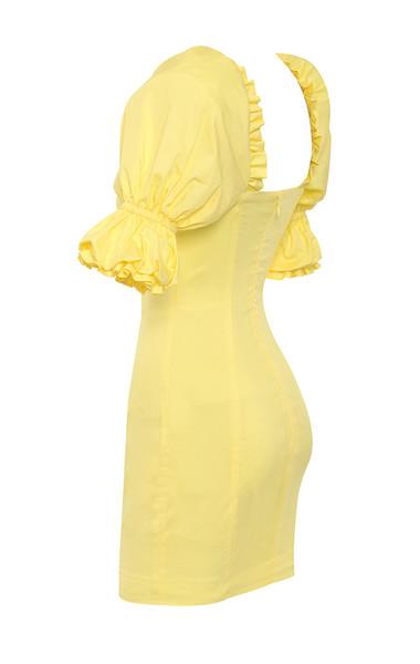 aida in yellow