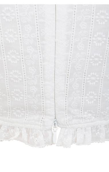 white cecilia top