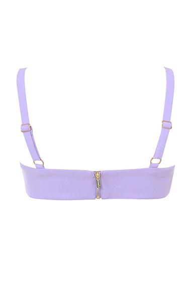 leela top in lilac
