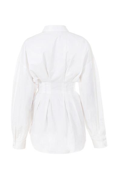 maddalena dress in white