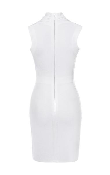 selune dress in white