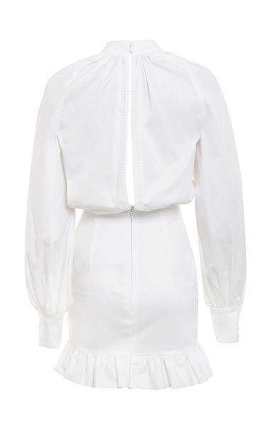 sheryll dress in white