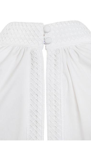 white sheryll dress