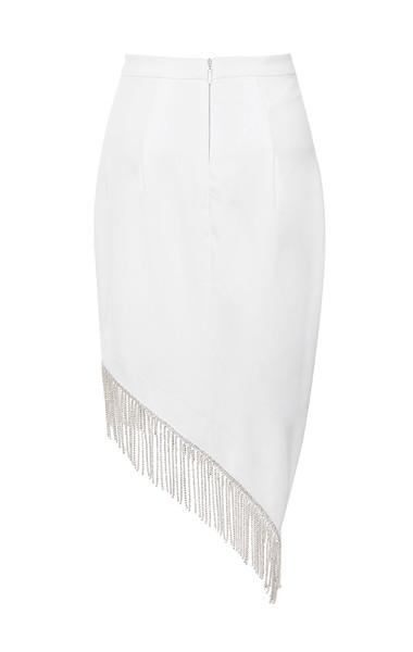 zoia skirt in white