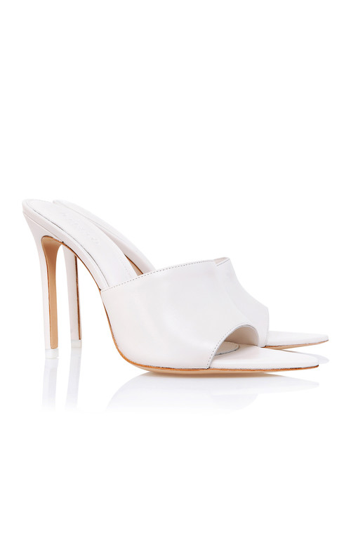 Andromeda Off White Pointed Mule