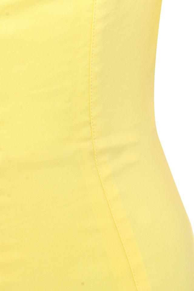 yellow aida dress