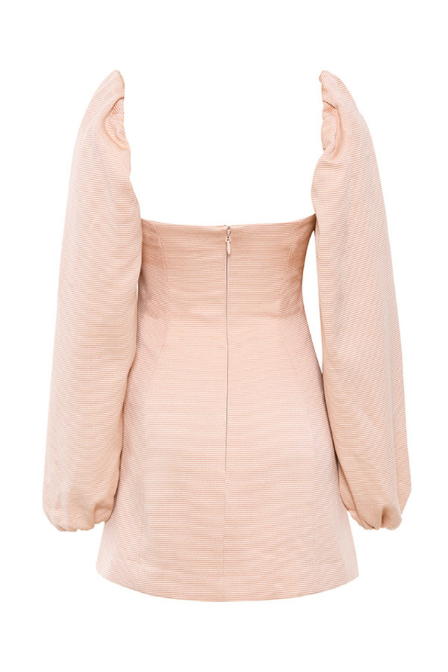 alliah dress in blush