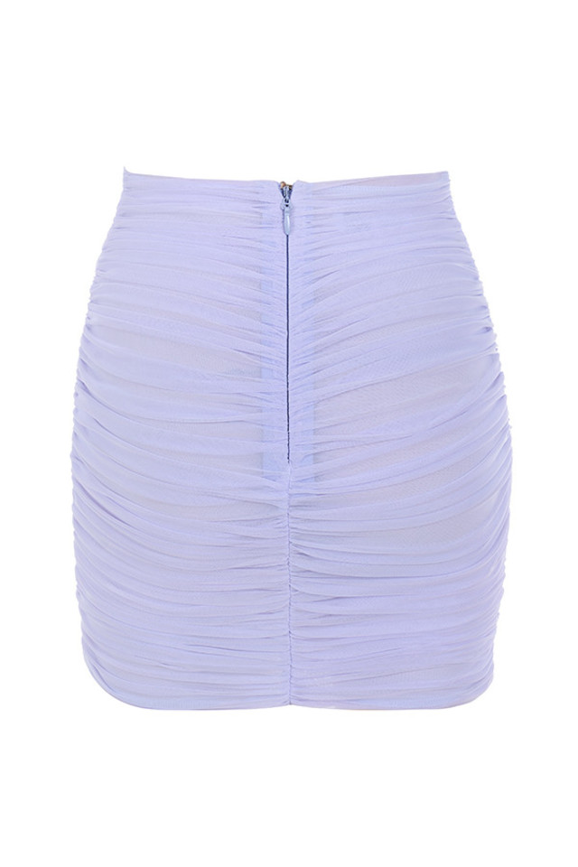 aubrey skirt in lilac