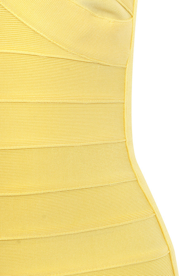 yellow chantelle dress