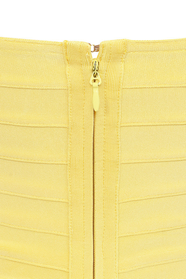 chantelle yellow dress
