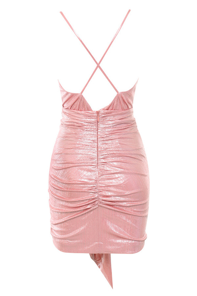 ciara dress in pink