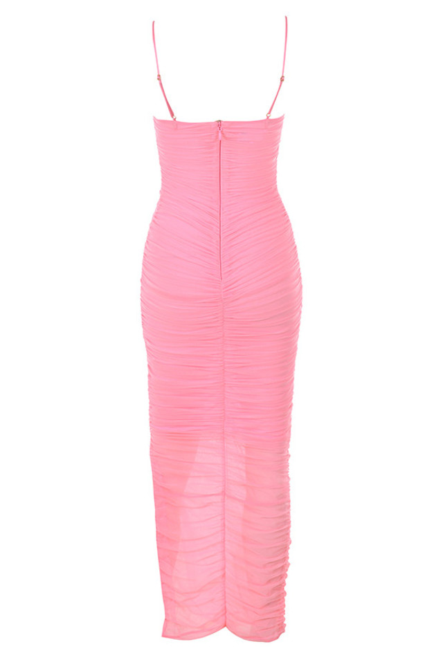 fornarina dress in pink