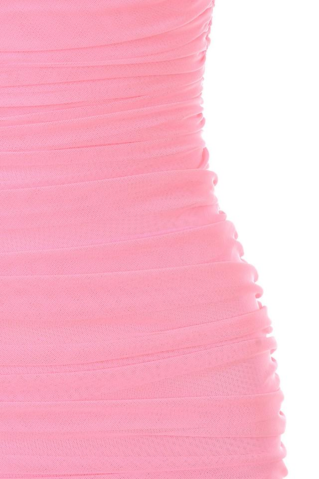 pink fornarina dress