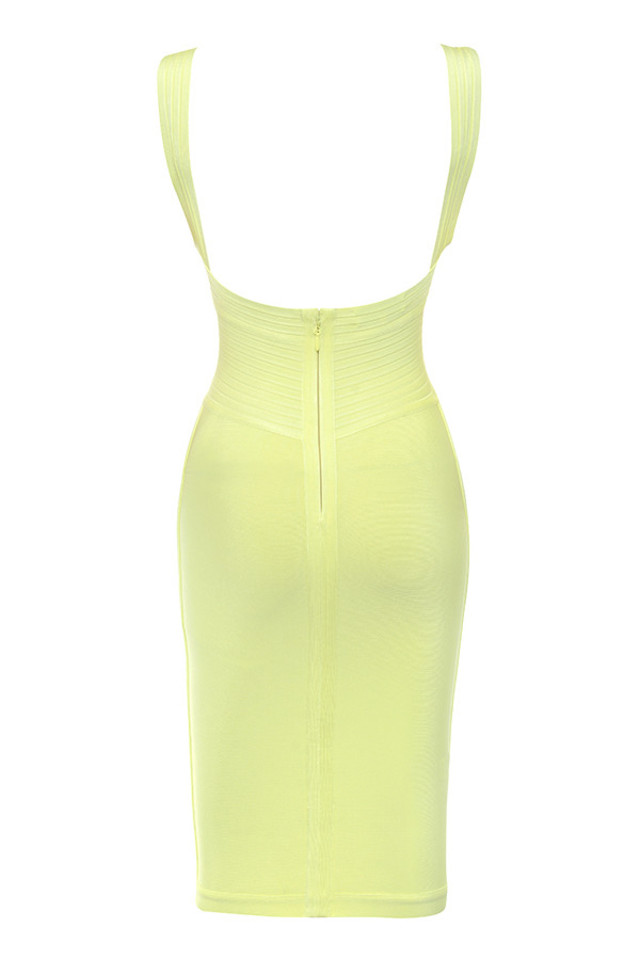 jantje dress in yellow