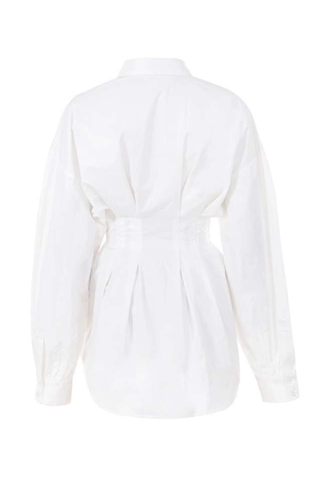 maddalena dress in white
