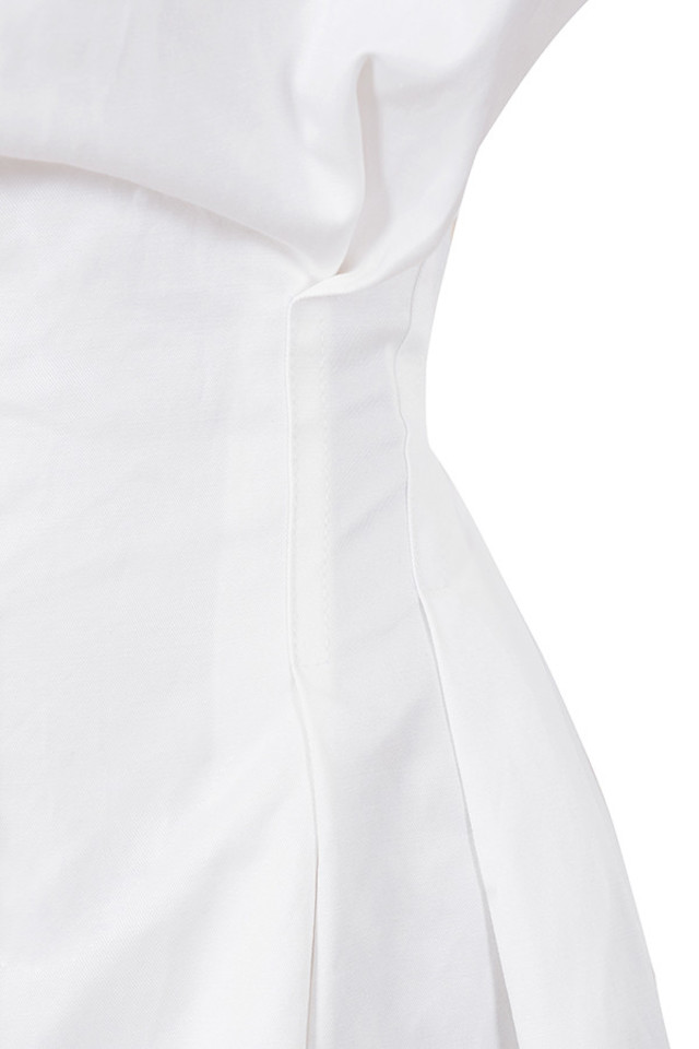 white maddalena dress