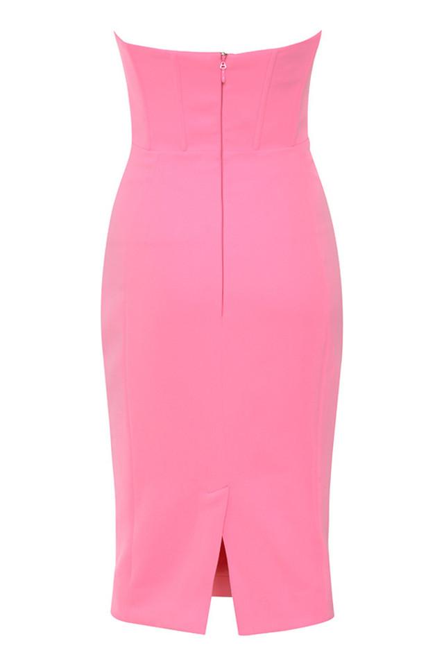niaz dress in pink