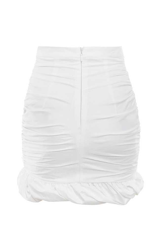 petya skirt in white