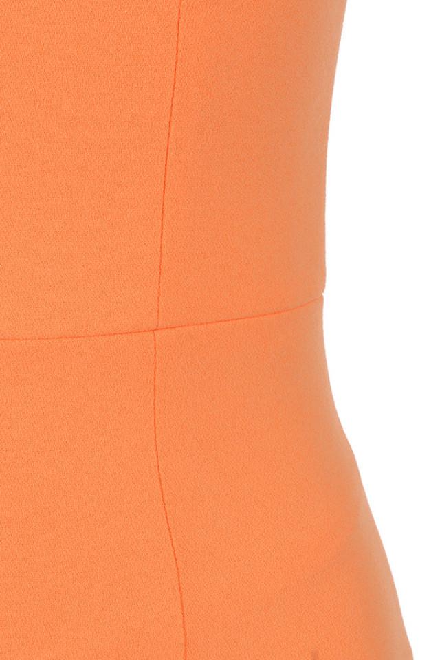 orange rinah dress