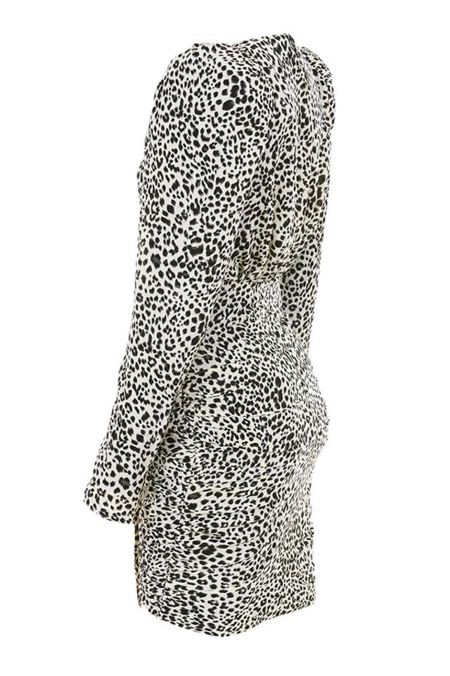 sandy in leopard