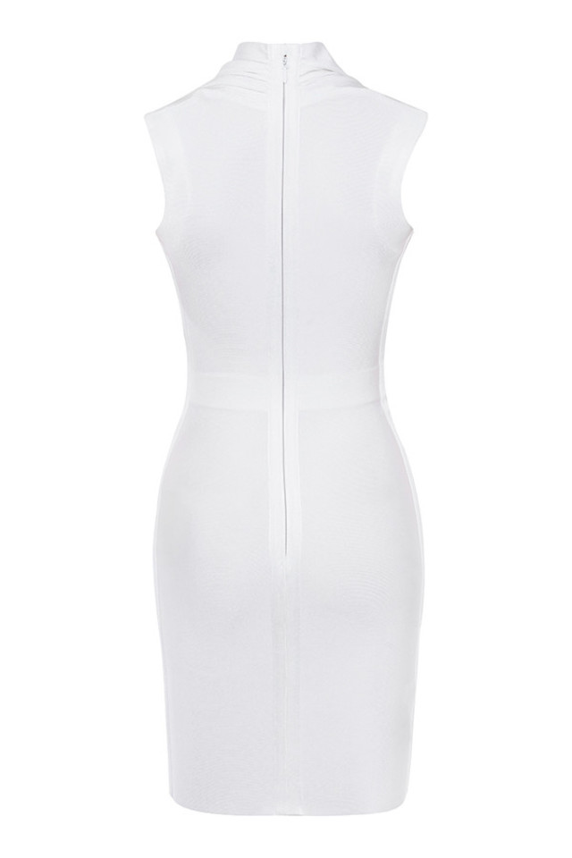 selune dress in white