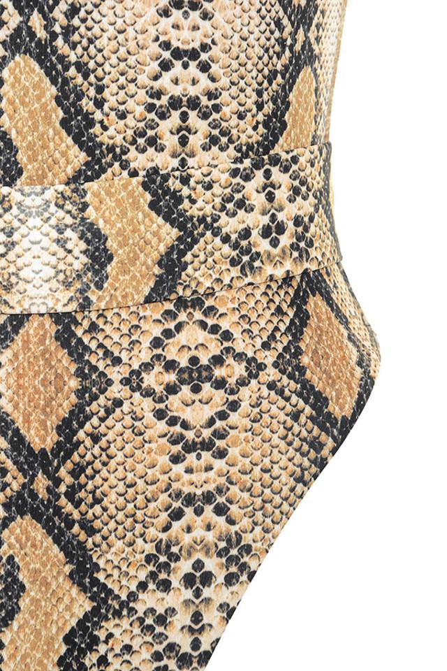 snakeskin wayfarer swim