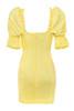 aida dress in yellow