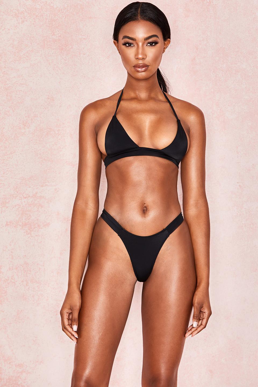 Aeneid Black Halter Bikini