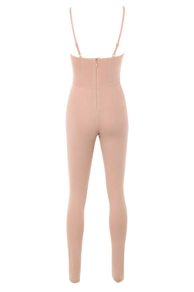 aretina jumpsuit in mocha