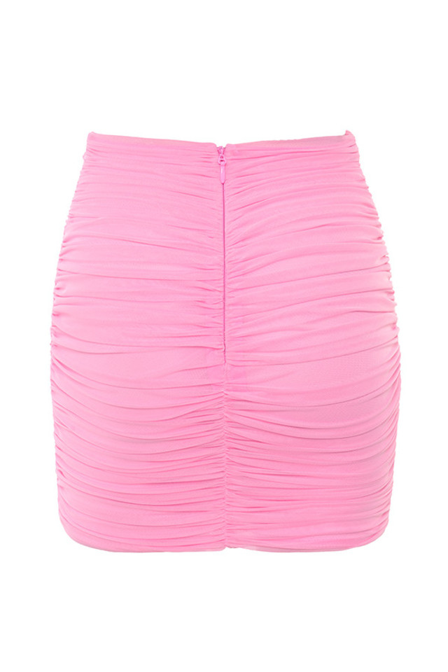 aubrey skirt in pink