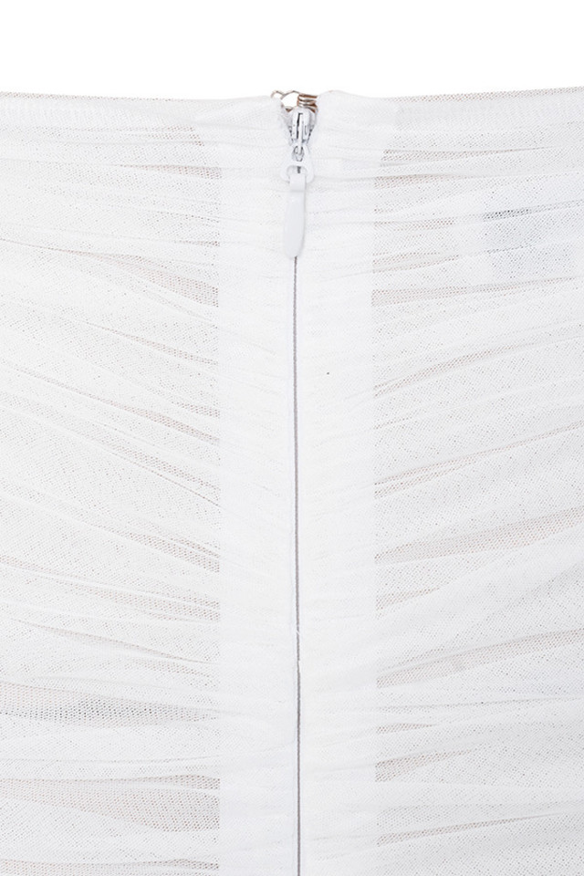white aubrey skirt